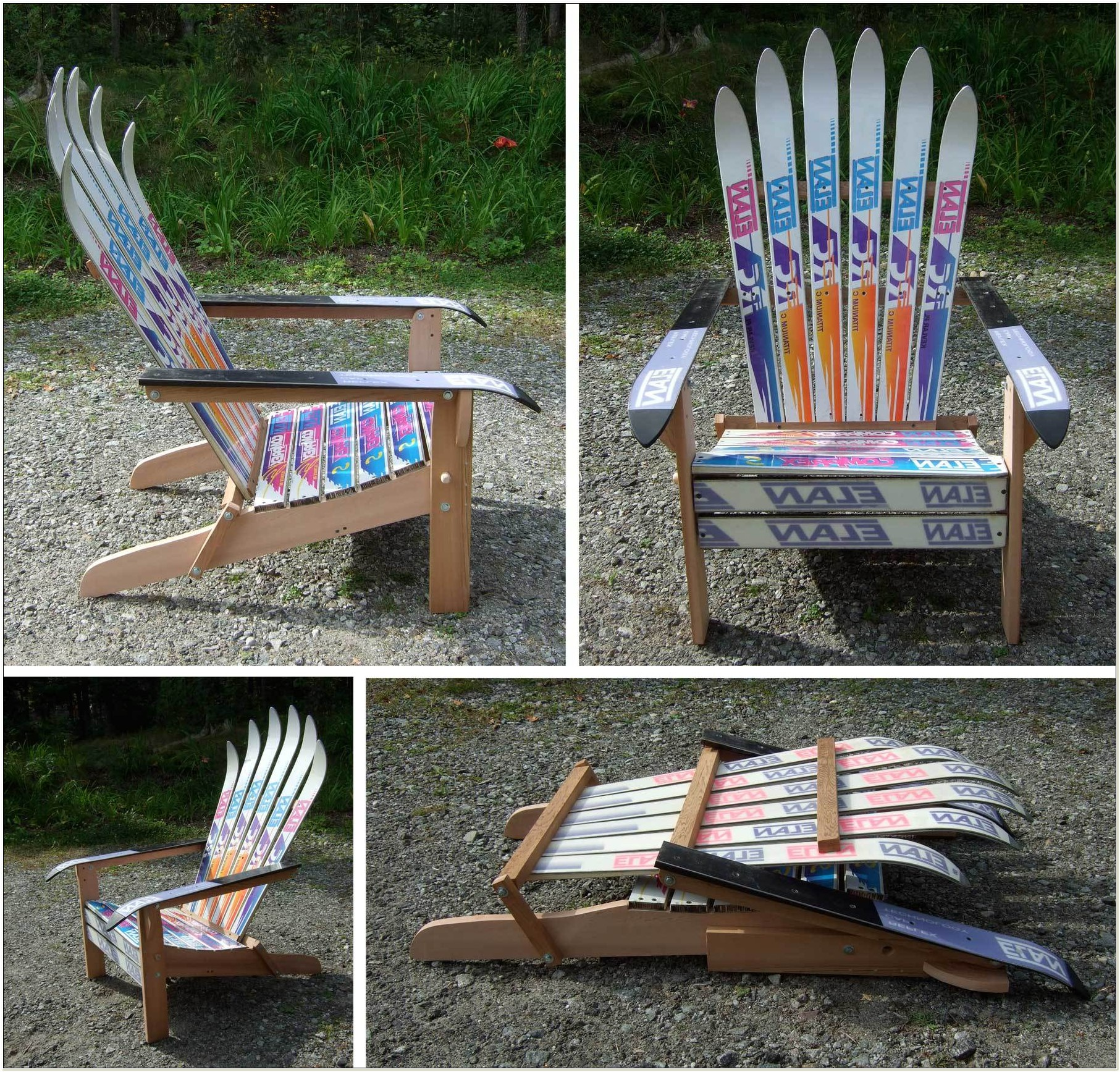 Plans For Ski Adirondack Chairs