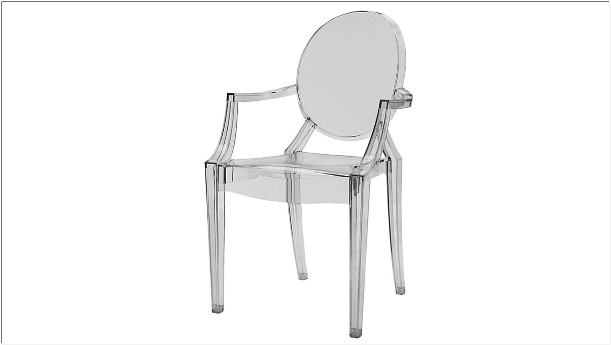 Plastic Ghost Chair Philippe Starck
