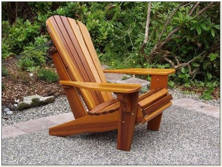 Plastic Lumber Adirondack Chair Plans