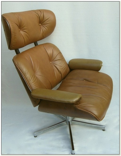 Plycraft Eames Style Lounge Chair Ottoman