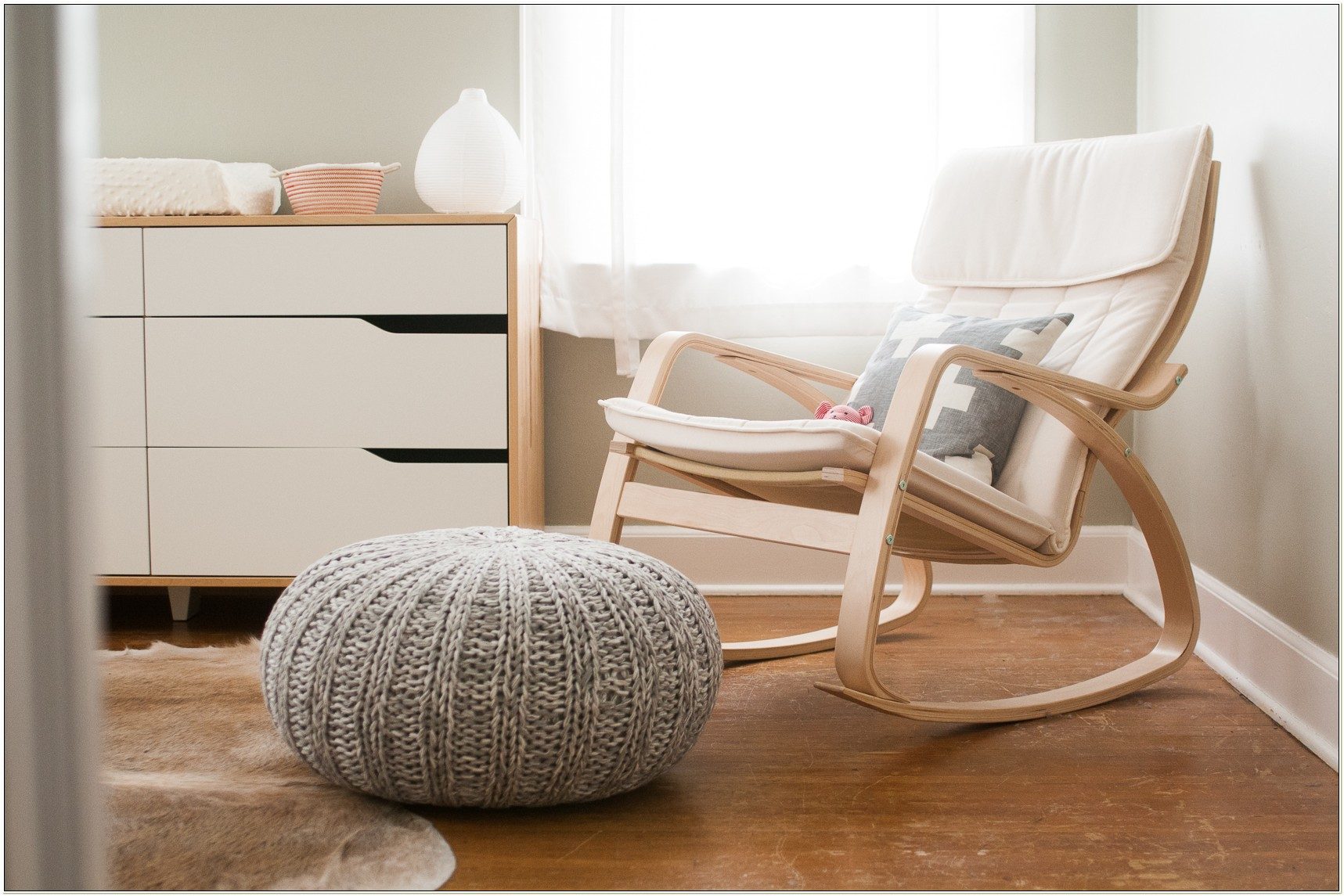 Poang Rocking Chair For Breastfeeding