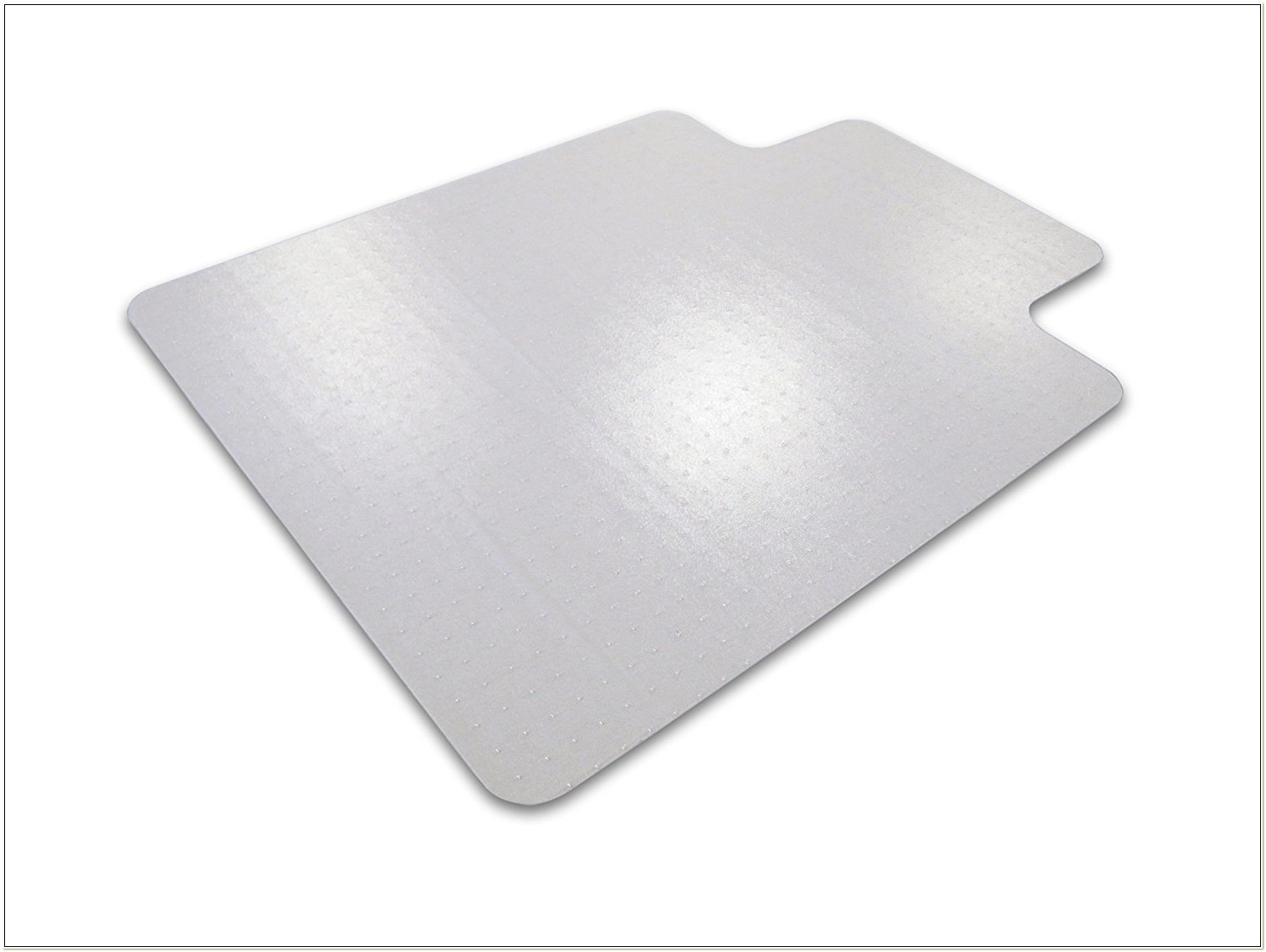 Polycarbonate Chair Mat For Plush Pile Carpets