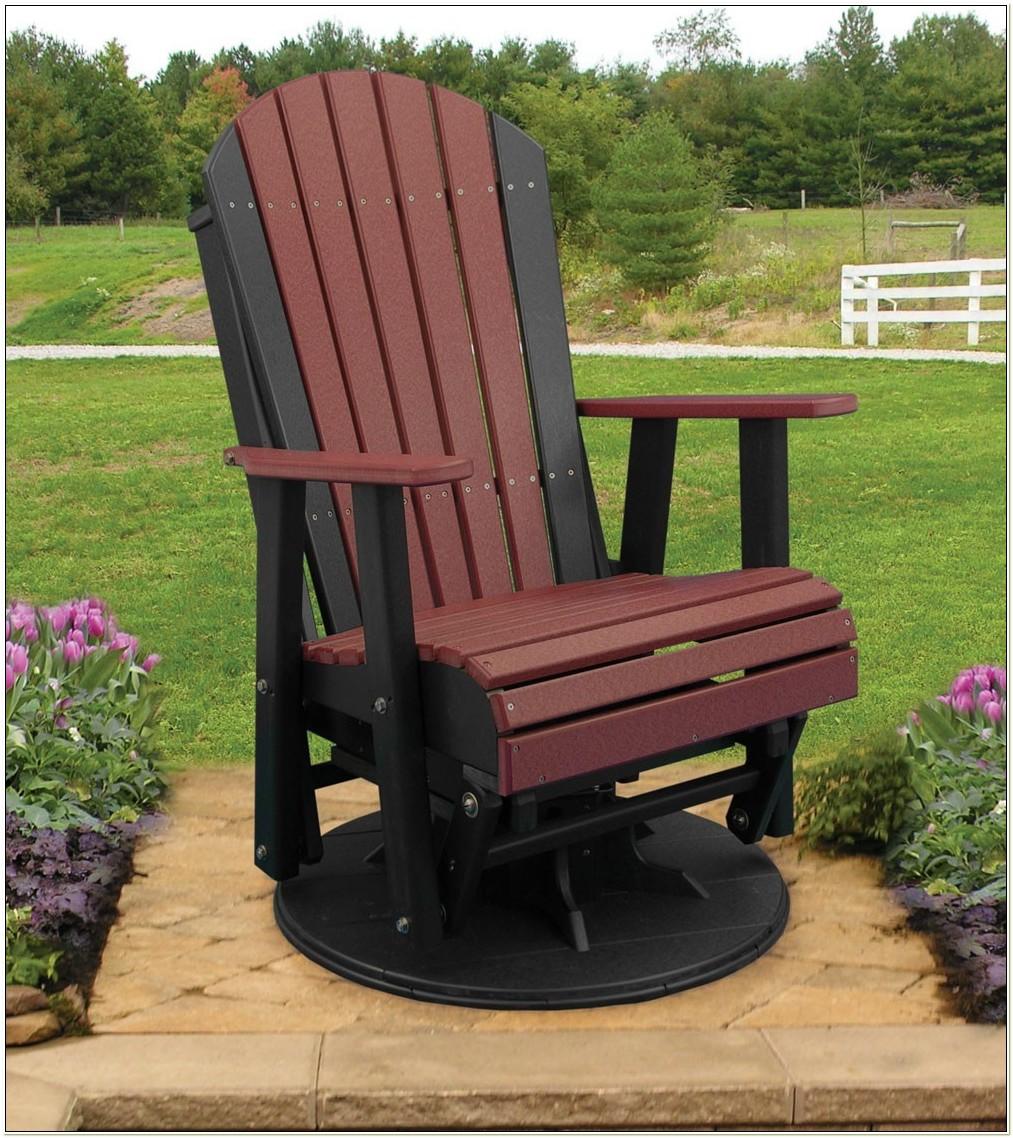 Polywood Adirondack Glider Chair