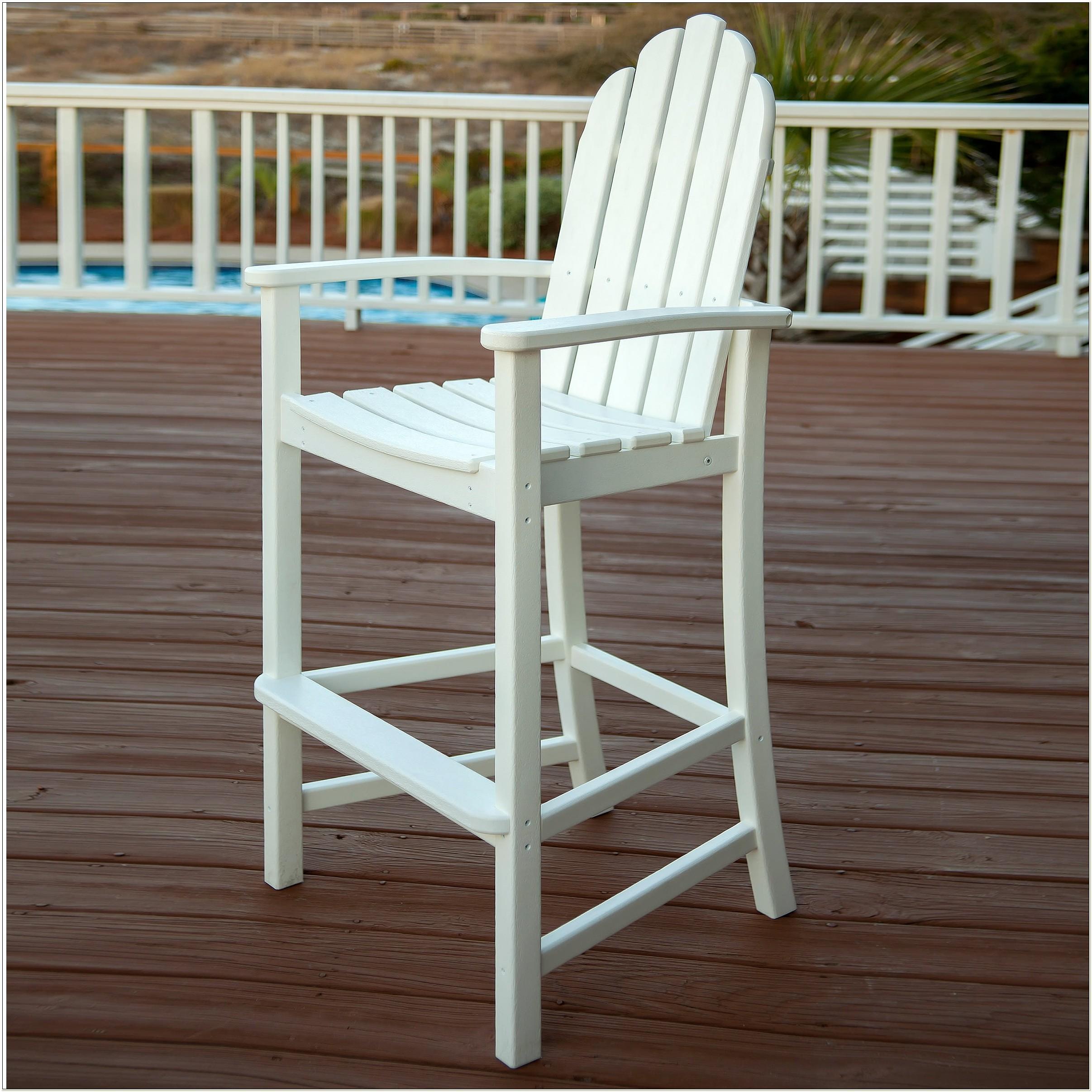 Polywood Classic Adirondack Bar Chair