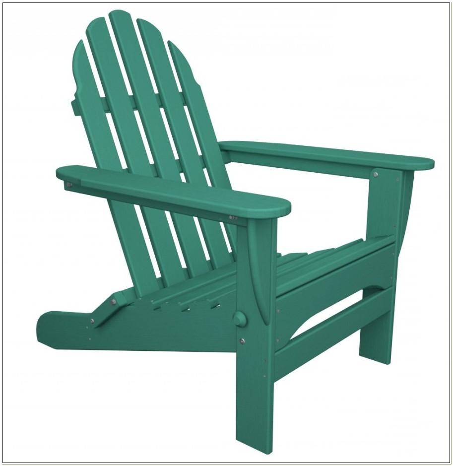 Polywood Classic Folding Adirondack Chair