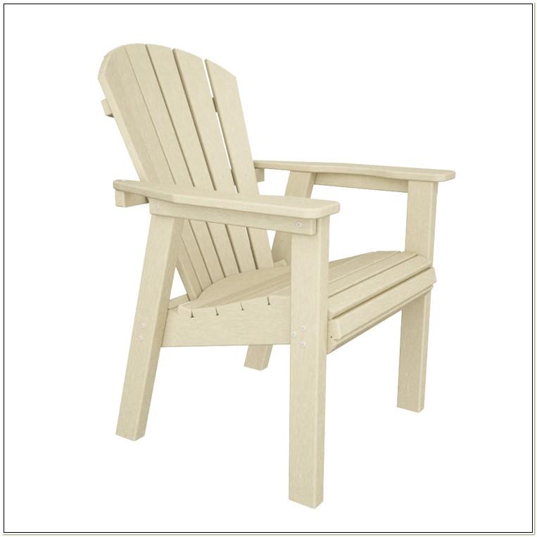 Polywood Seashell Adirondack Dining Chair