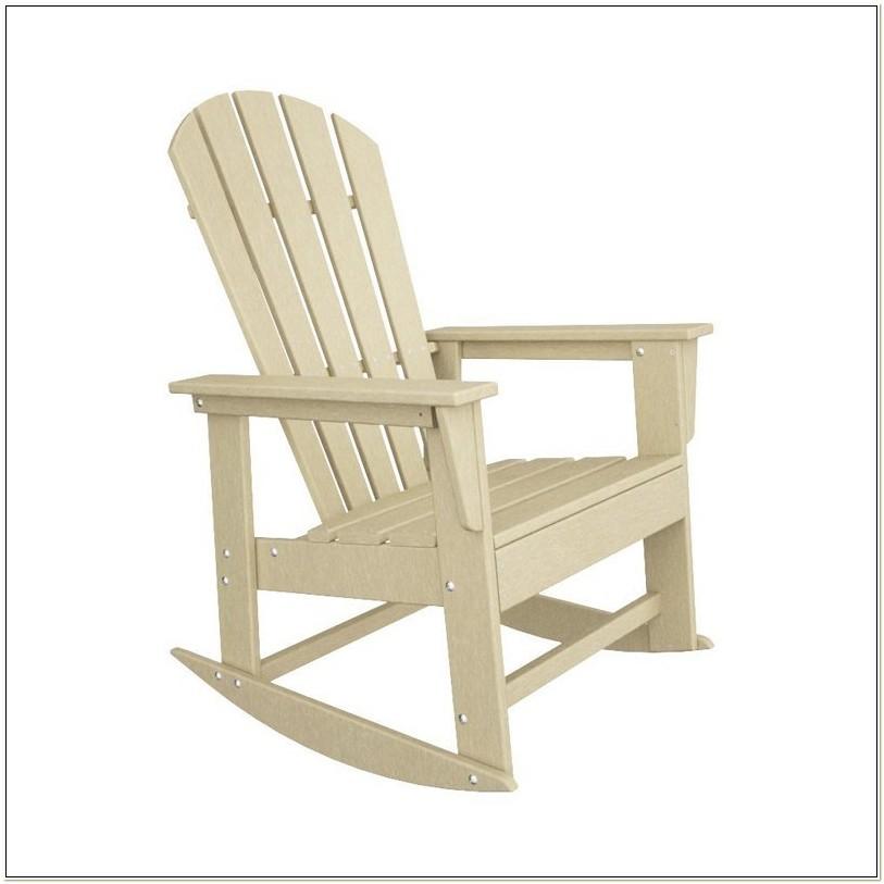Polywood South Beach Adirondack Rocking Chair