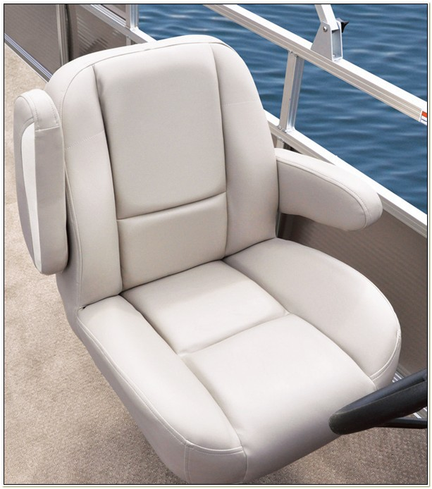 Pontoon Boat Captain Chair Cover