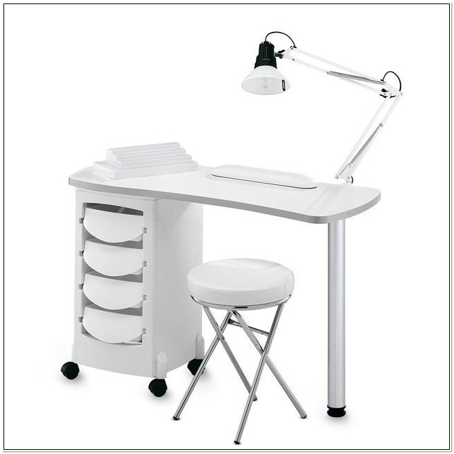 Portable Manicure Table And Chair