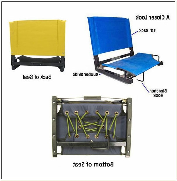 Portable Stadium Chairs For Bleachers