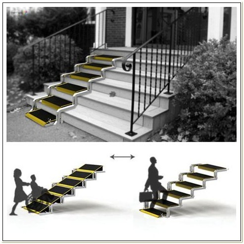 Portable Wheelchair Ramp For Stairs