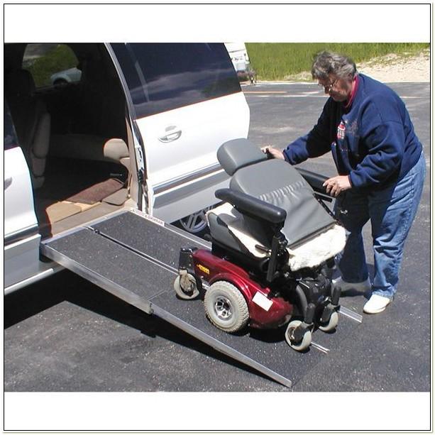 Portable Wheelchair Ramp For Van