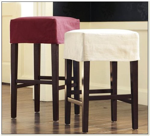 Pottery Barn Bar Stool Slipcover