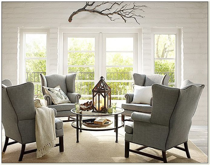 Pottery Barn Chairs Living Room