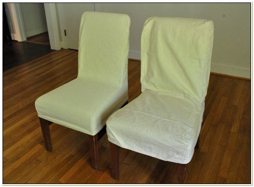 Pottery Barn Loose Fit Dining Chair Slipcover