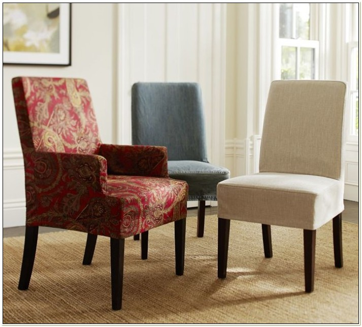 Pottery Barn Napa Dining Chair Slipcovers