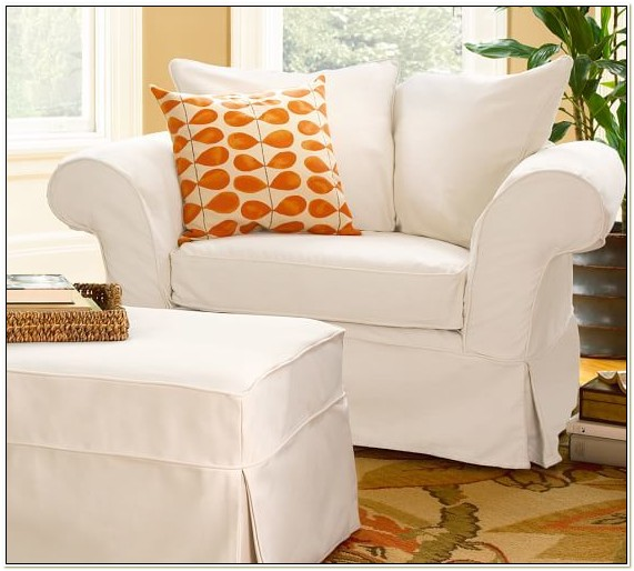 Pottery Barn Slipcovers Chair And A Half
