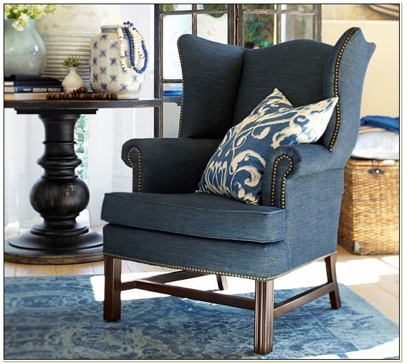 Pottery Barn Wingback Chair