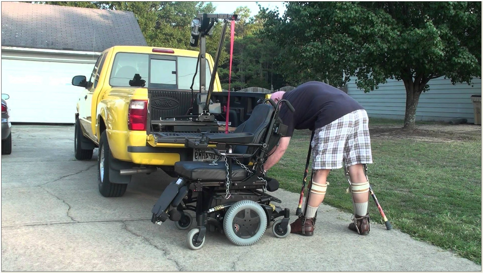 Power Chair Lifts For Trucks