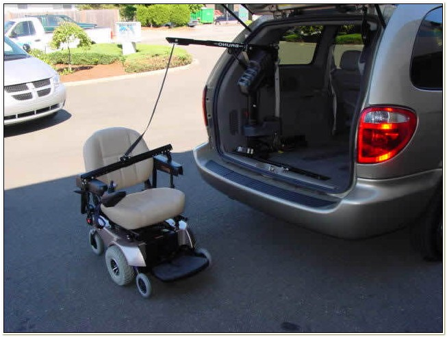 Power Chair Lifts For Vans