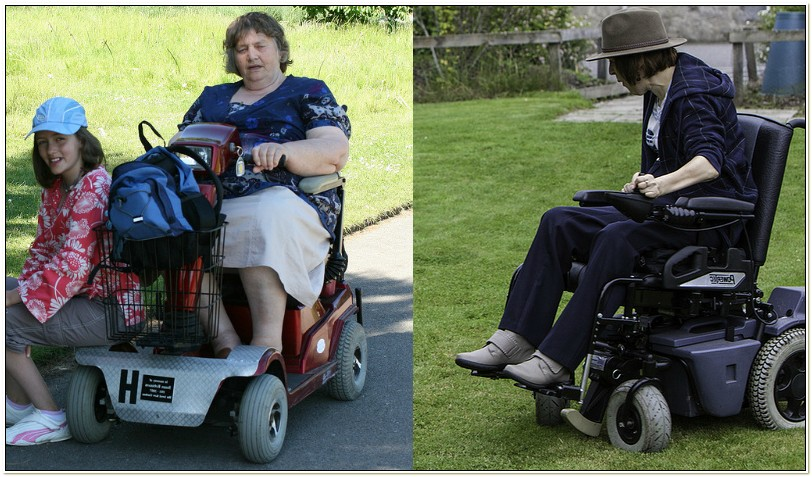 Power Chair Vs Electric Scooter