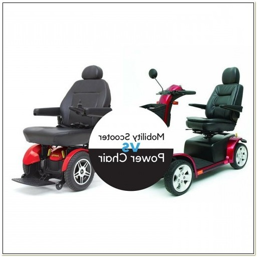 Power Chair Vs Scooter