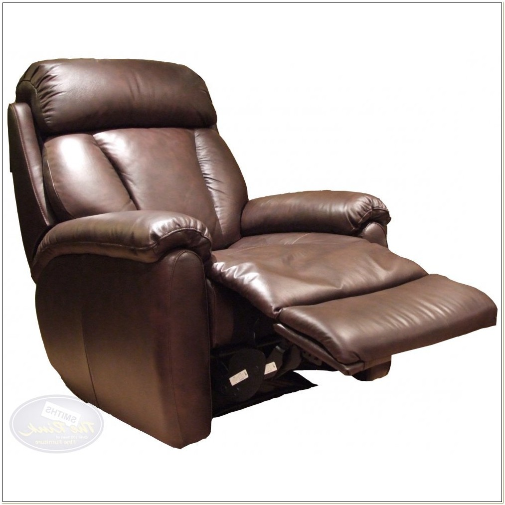 Power Leather Recliner Chairs
