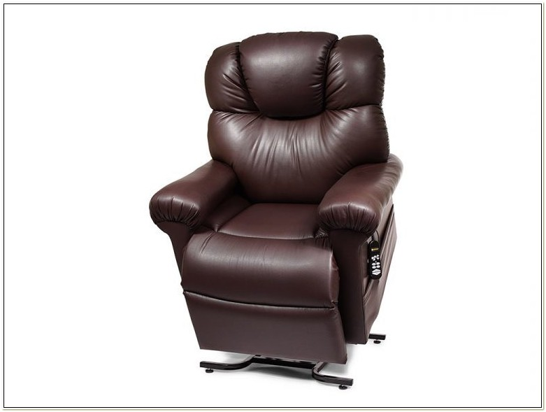 Power Lift And Recline Chair Golden