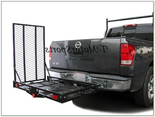 Power Wheelchair Mobility Carrier Rack Ramp