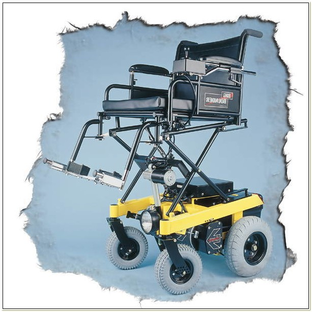 Power Wheelchair With Seat Lift