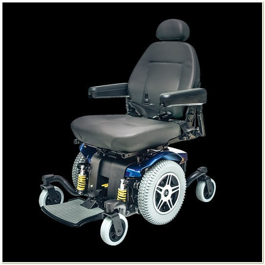 Pride Jazzy 614 Power Wheelchair