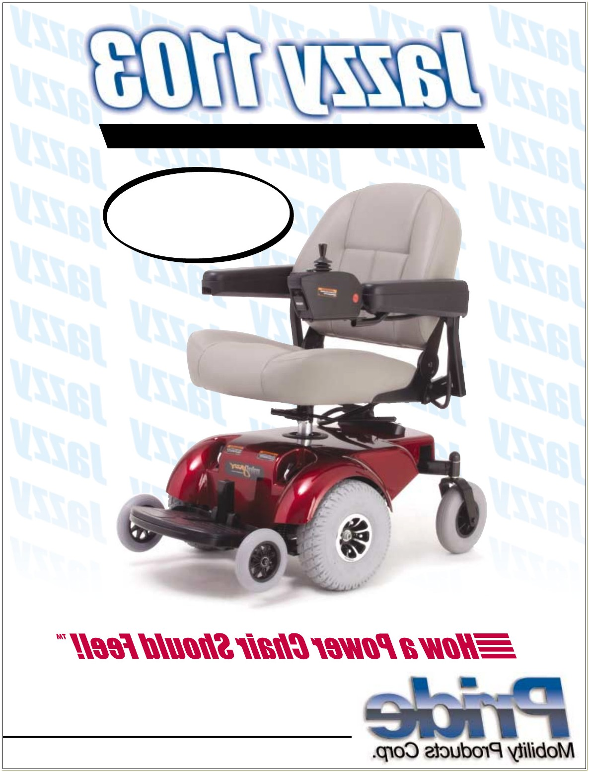 Pride Jazzy Power Chair Manual