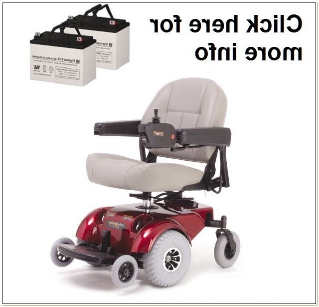 Pride Mini Jazzy Power Chair