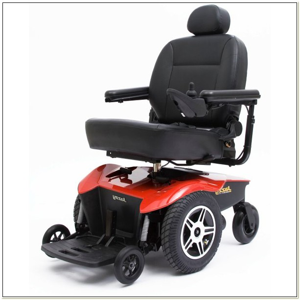 Pride Mini Jazzy Power Wheelchair