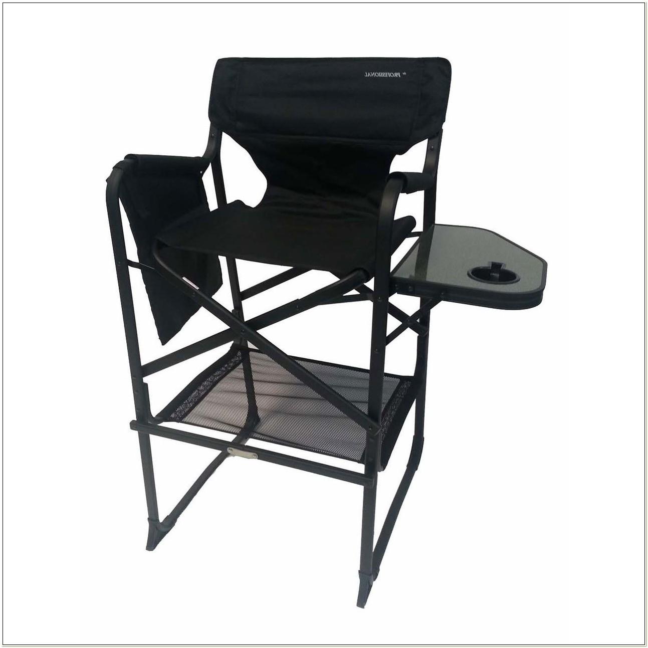 Professional Tall Folding Directors Chair