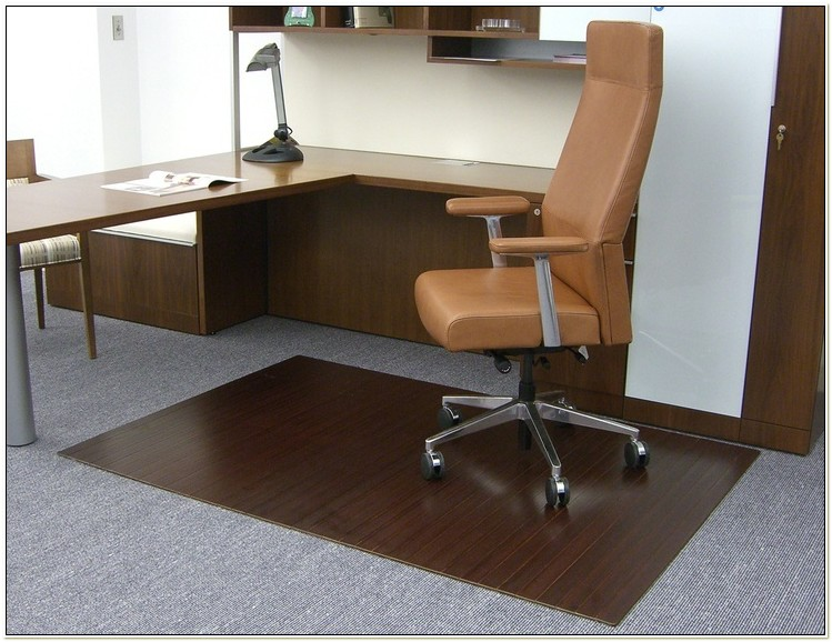 Purely Bamboo Office Chair Mat