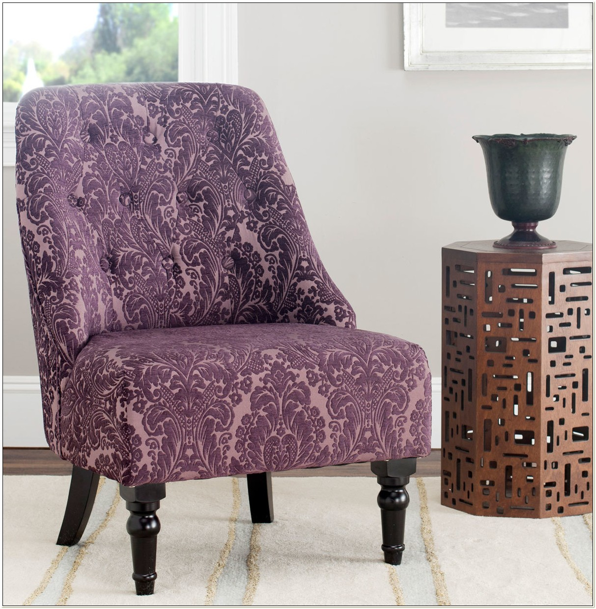 Purple Accent Chair Under 100