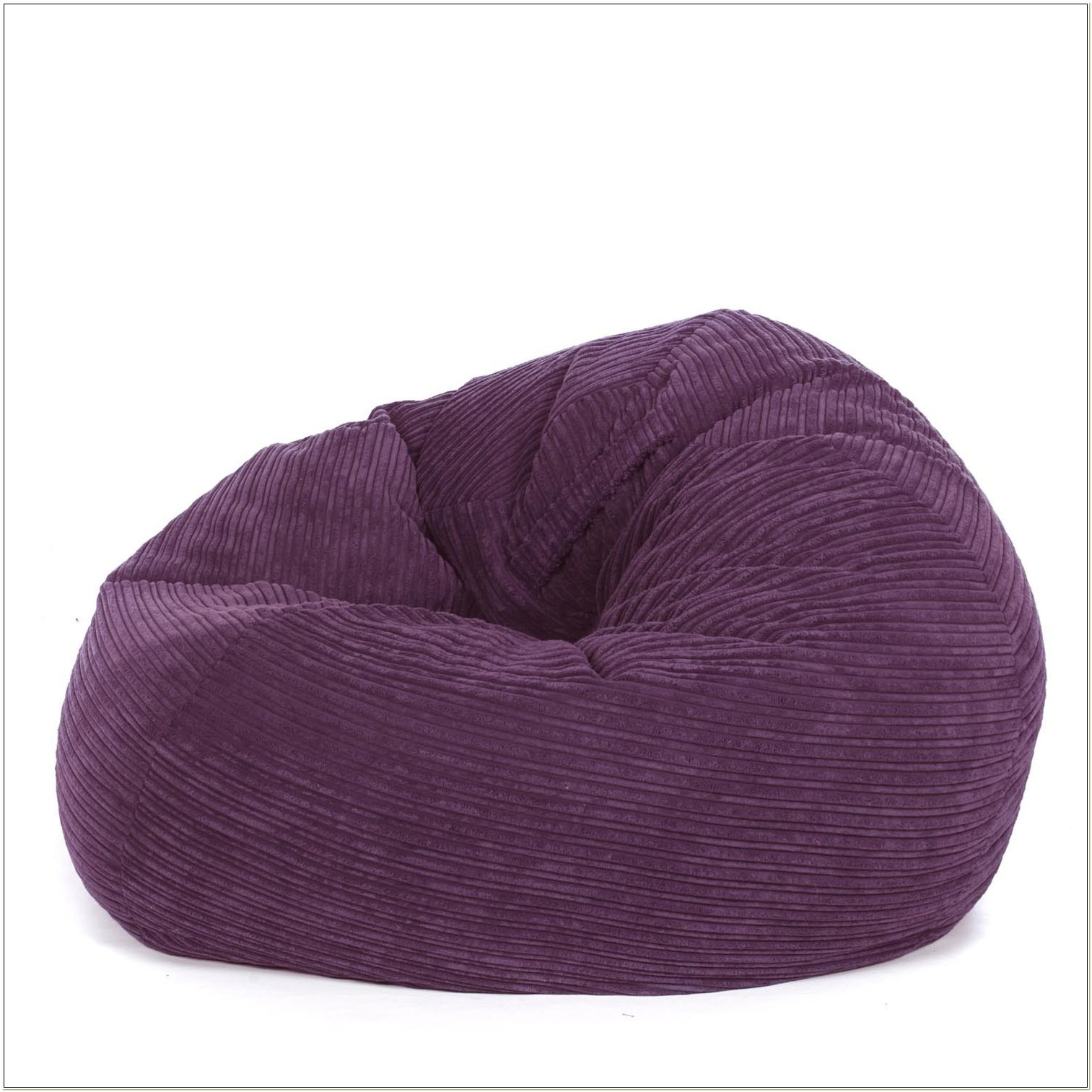 Purple Corduroy Bean Bag Chair