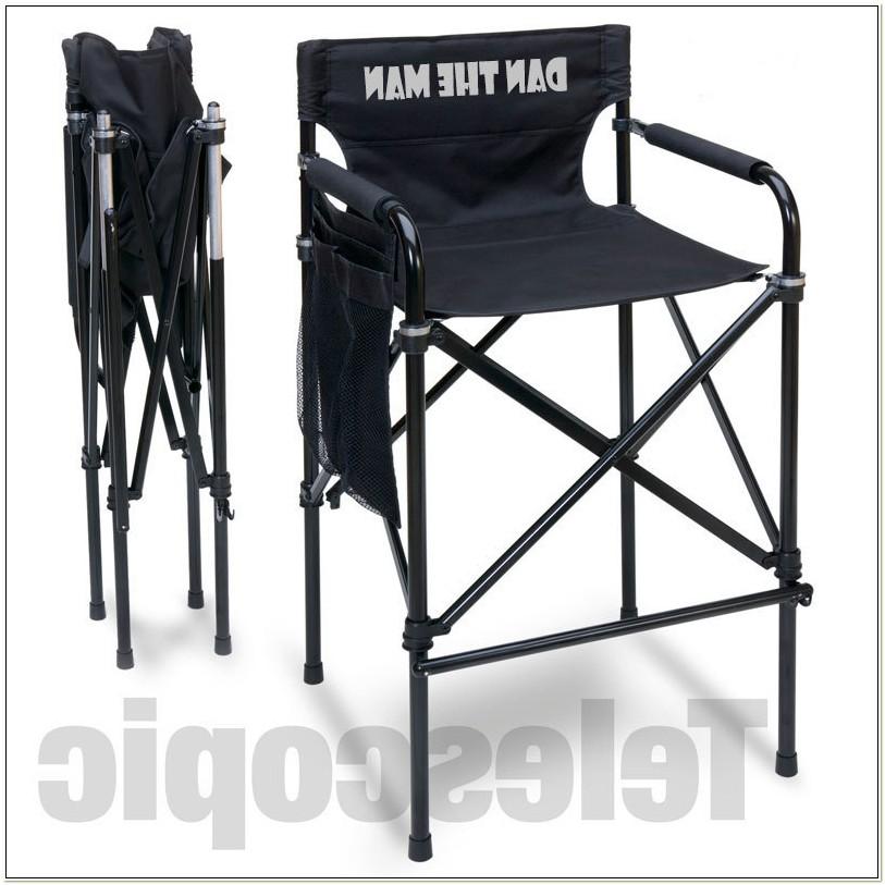 Quad Style Tall Aluminum Directors Chair
