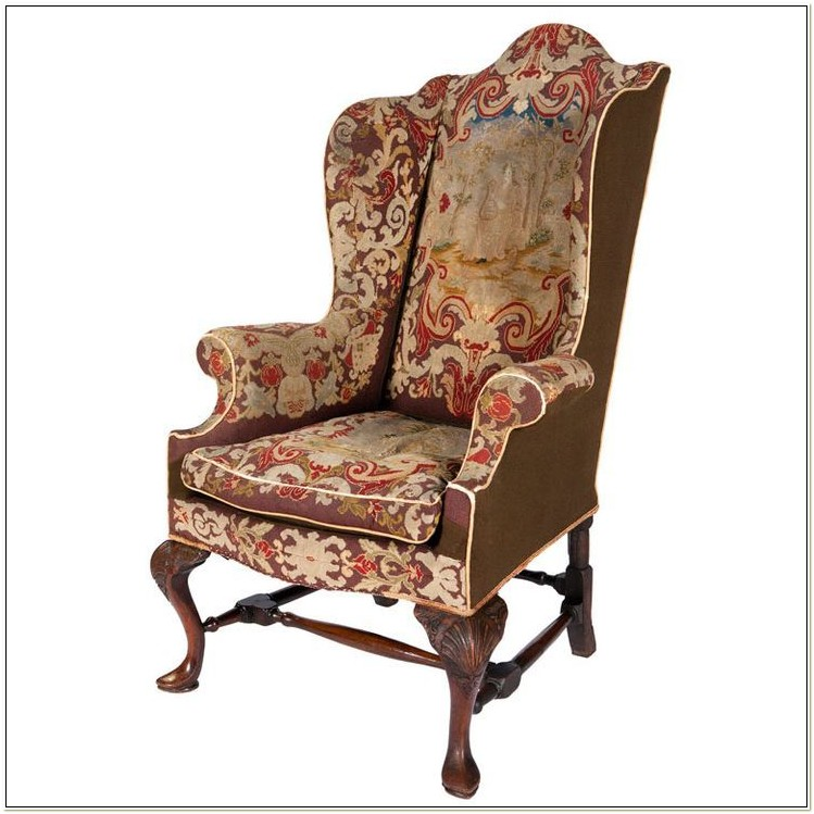 Queen Anne Wingback Chair History
