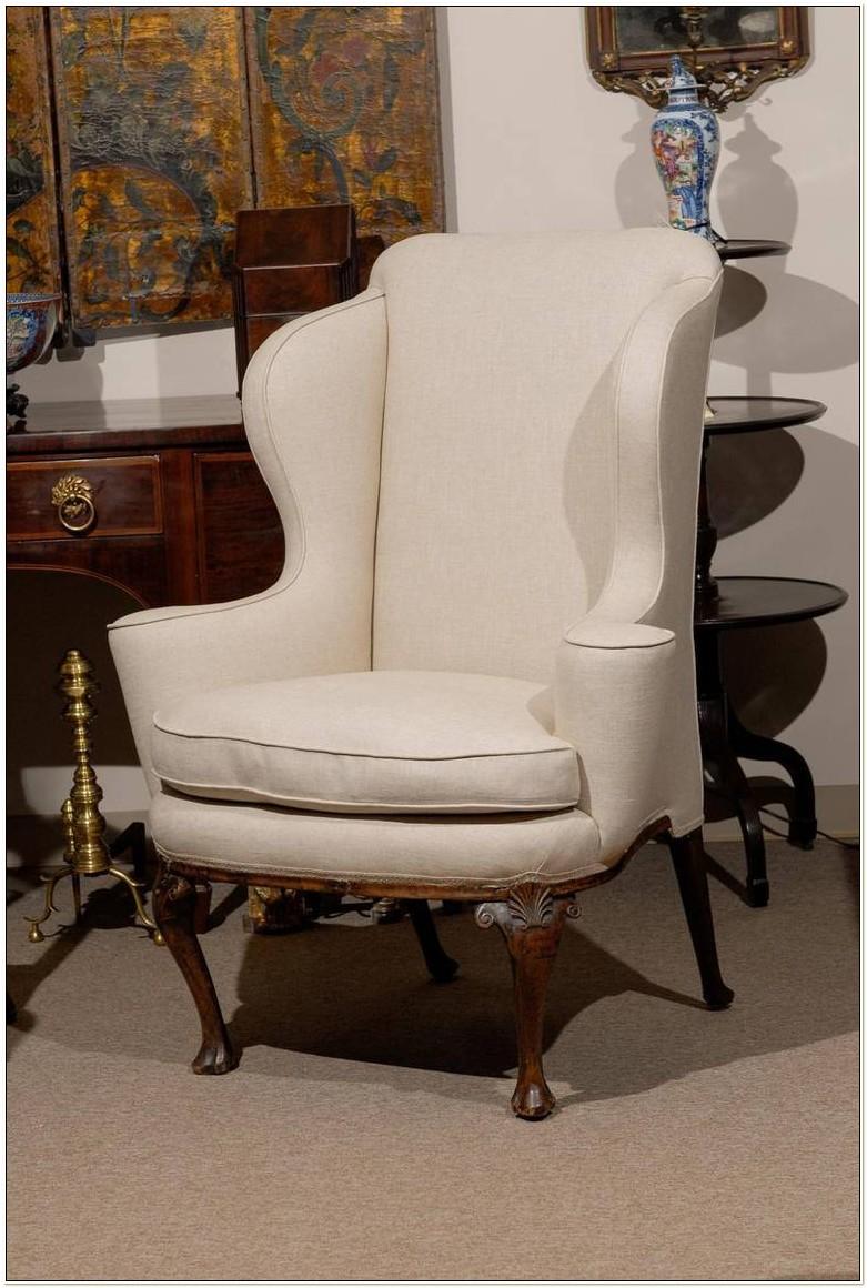 Queen Anne Wingback Chair Plans