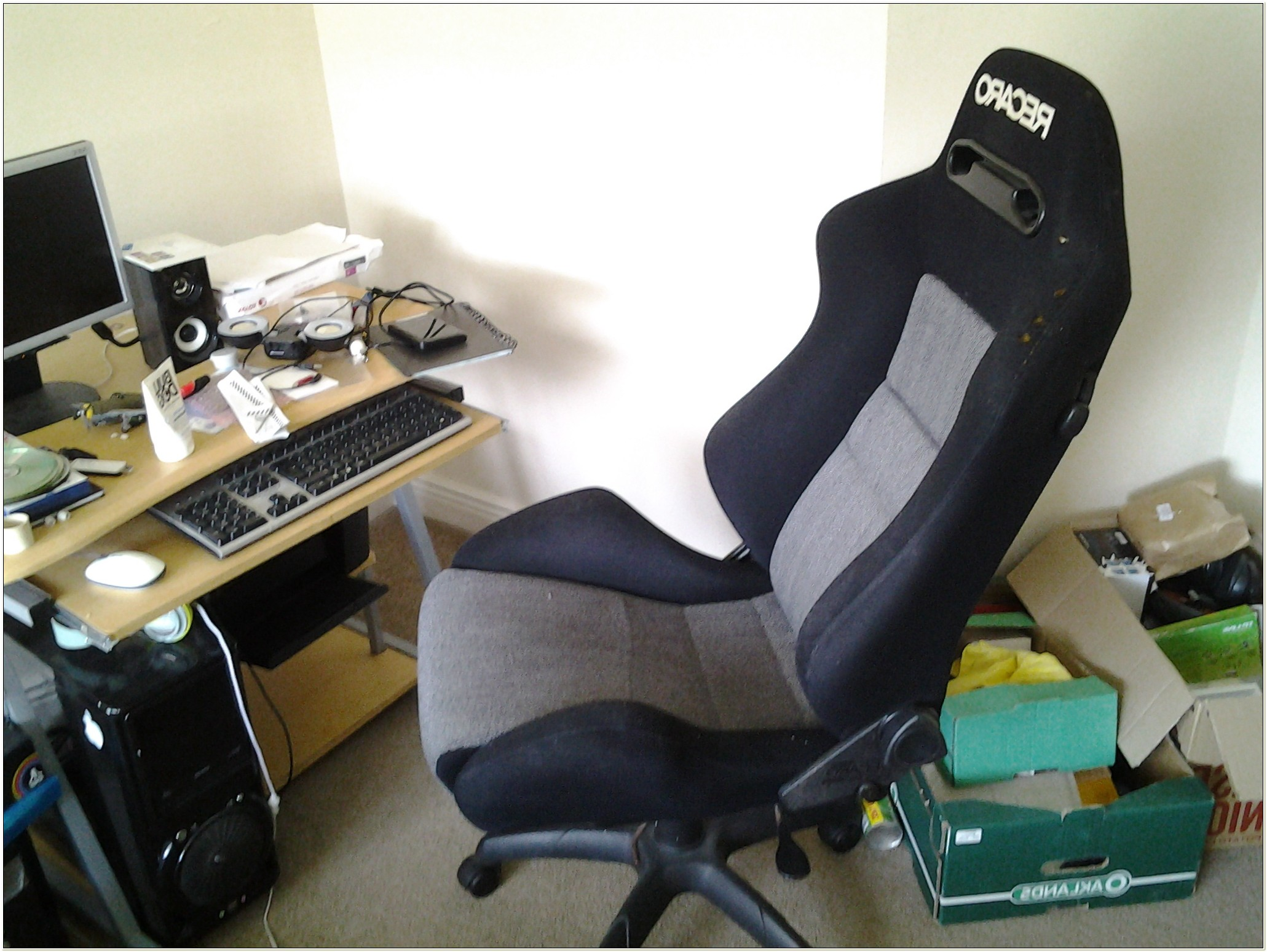 Racing Seat Computer Chair Diy