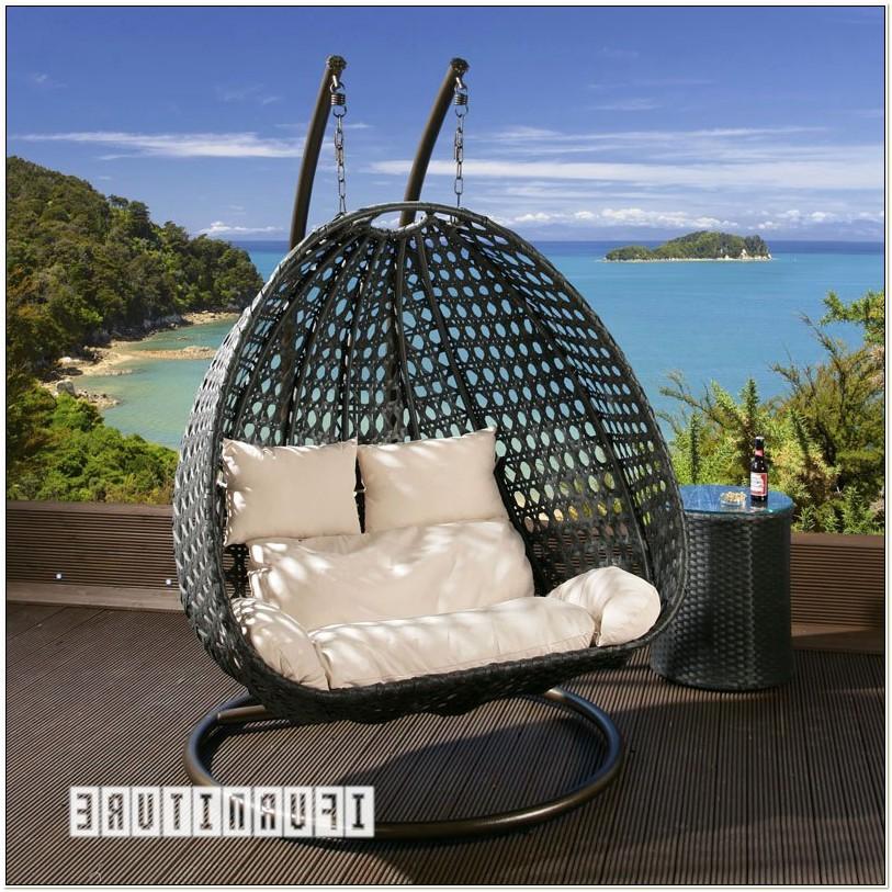Rattan Garden Swing Egg Chair