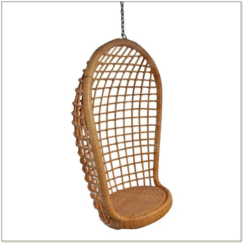 Rattan Swinging Egg Chair