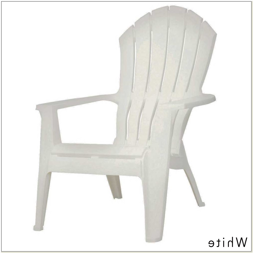 Real Comfort Adirondack Chair White