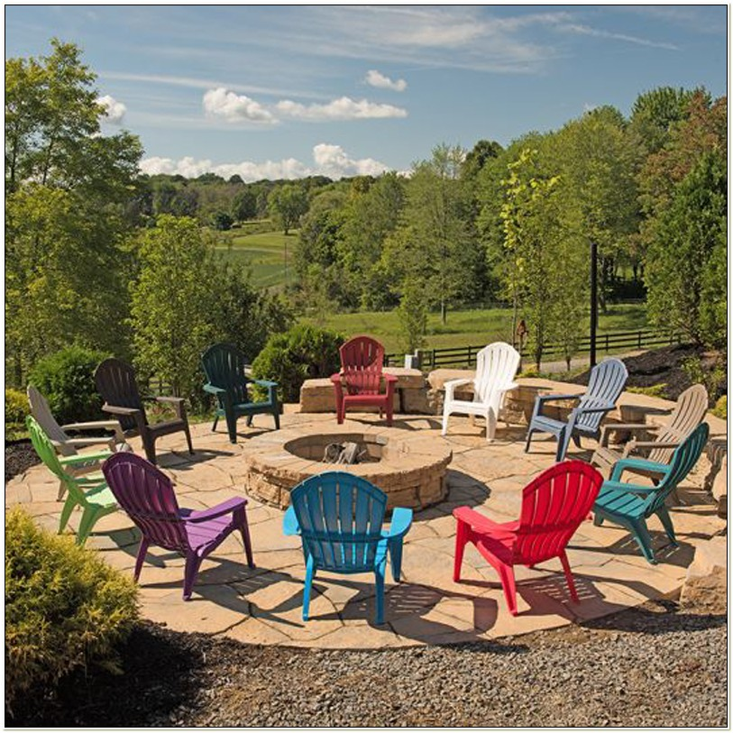 Real Comfort Resin Adirondack Chairs