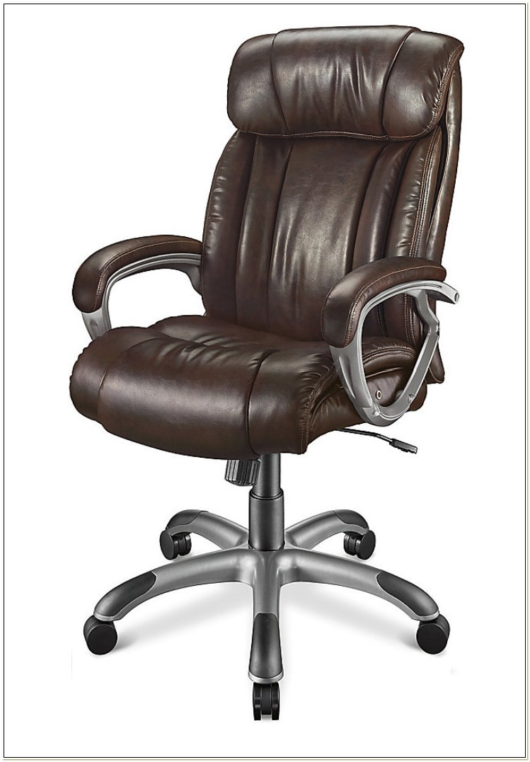 Realspace Waincliff High Back Bonded Leather Chair