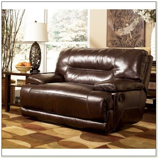 Recliner Chair And A Half Leather