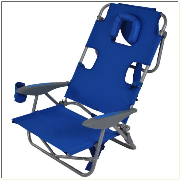 Reclining Backpack Beach Chair With Canopy