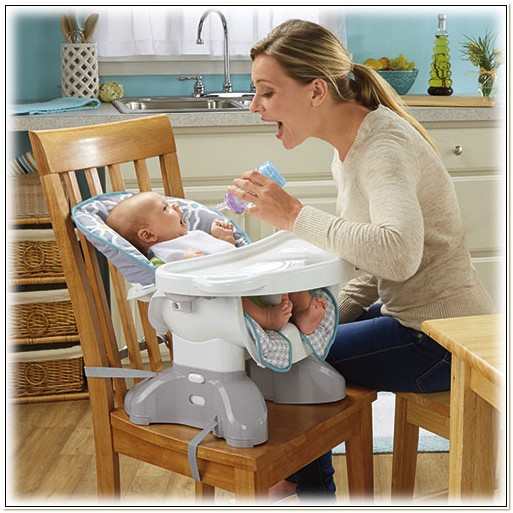 Reclining Booster Seat High Chair